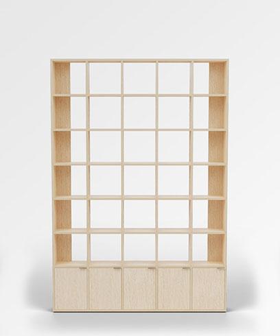 Morph-Bookcase